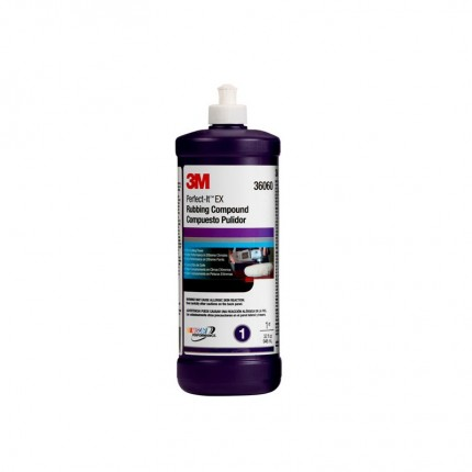 3M 36060 EX Rubbing Compound