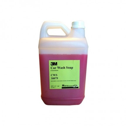 3M 38079 Car Wash Soap (Gallon)