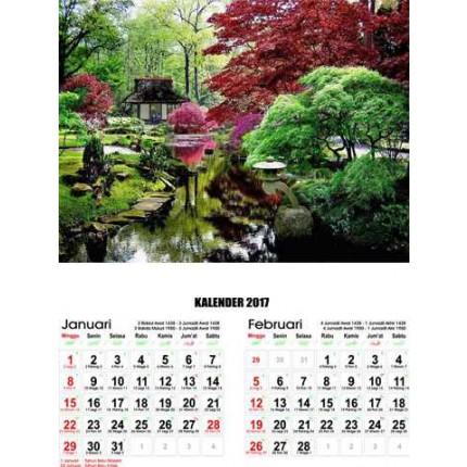 Kalender Taman Jepang