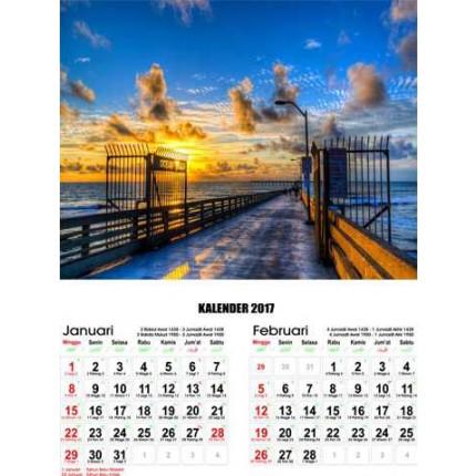 Kalender Senja Indah