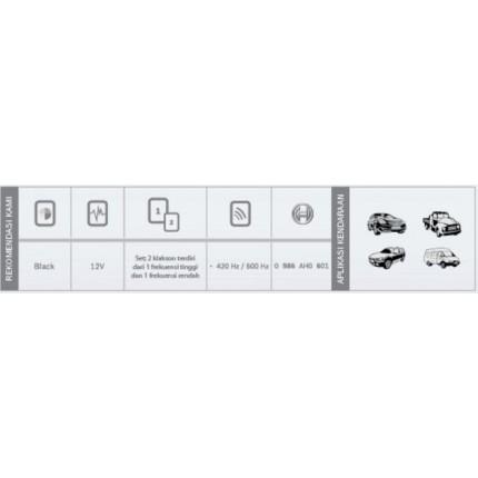Klakson H3F Mobil Bosch Set