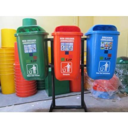 Jasa Sablon Plastik Tong Sampah