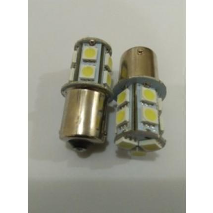 LED T10 12V 13SMD 5050 KAKI 1 BLITZ LAMPU SEN