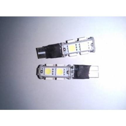 LED T10 9SMD 5050 12V PUTIH BLITZ