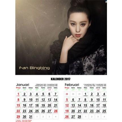 kalender artis mandarin