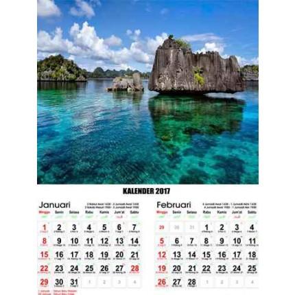 Kalender Pemandangan Indonesia