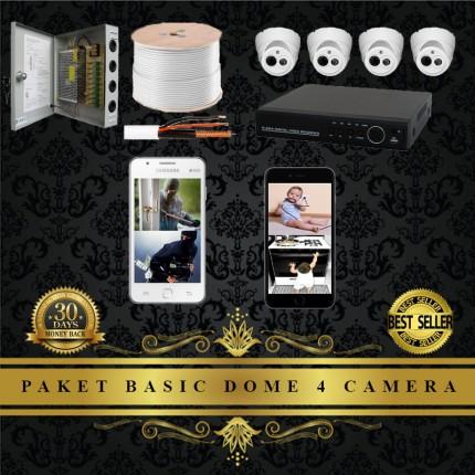 Paket 4 Camera Dome CCTV