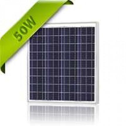 Solar Panel 50 Watt 12V Polycrystalline